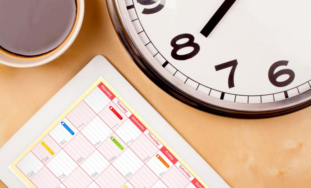 Calendar of key tax and filing dates{{}}