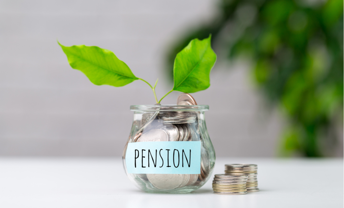 Growing pension pot