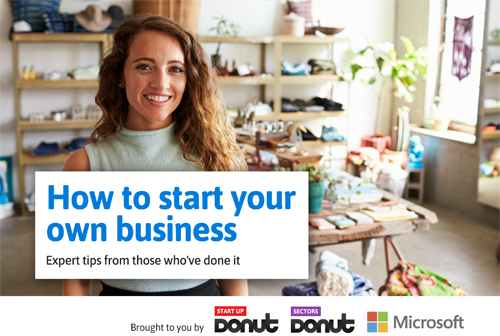 Free guide – How to start your own business
