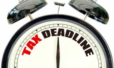 A clock counts down to the Making Tax Digital deadline