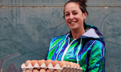 Georgina Burrows of Sussex Eggspress