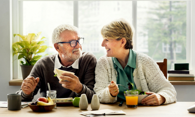 Retired couple at home - Pensions for your employees