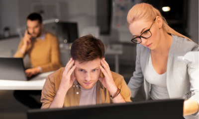 Technology causing employee stress