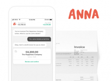 ANNA Money invoicing app