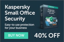 Kaspersky 40% off offer image