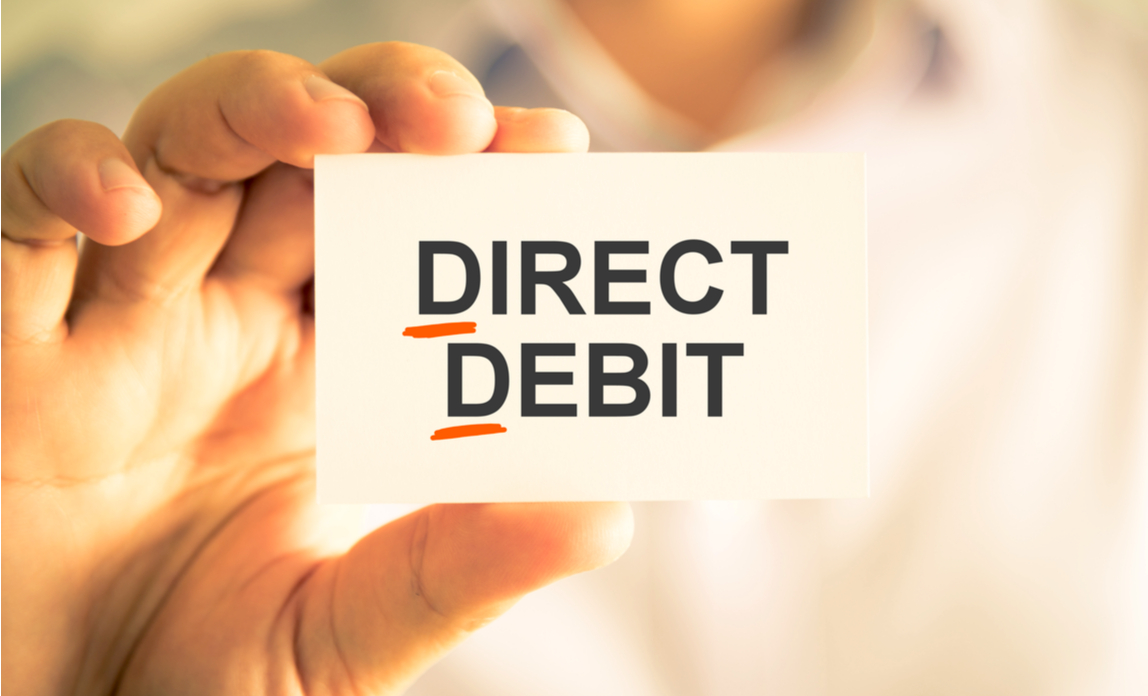 Three reasons to take payment via Direct Debit